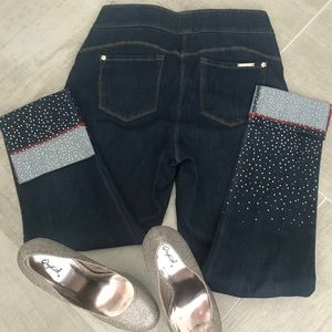 Skinny Jeans with sparkles